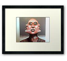 TRIANGLE Framed Print