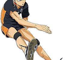 Haikyuu: Tanaka Ryuunosuke Spike by Ayesher
