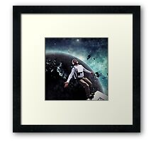 Base Jump Framed Print