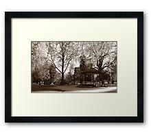 Cook Park, Orange NSW Framed Print