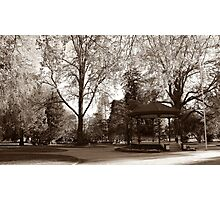 Cook Park, Orange NSW Photographic Print