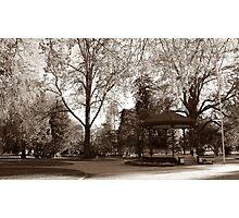Cook Park, Orange NSW Photographic Print