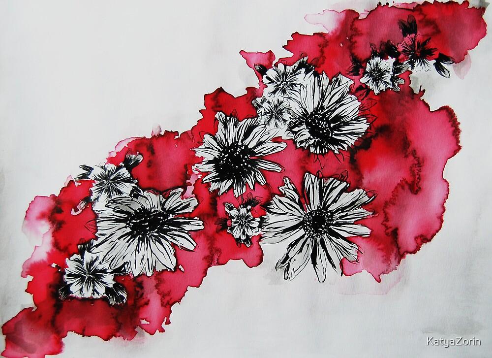 Red Flowers by KatyaZorin