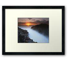 """The Eye of Sauron"" ∞ Fingal Head, NSW - Australia Framed Print"
