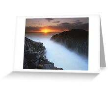 """The Eye of Sauron"" ∞ Fingal Head, NSW - Australia Greeting Card"