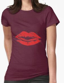 Lips Are Movin' Womens Fitted T-Shirt