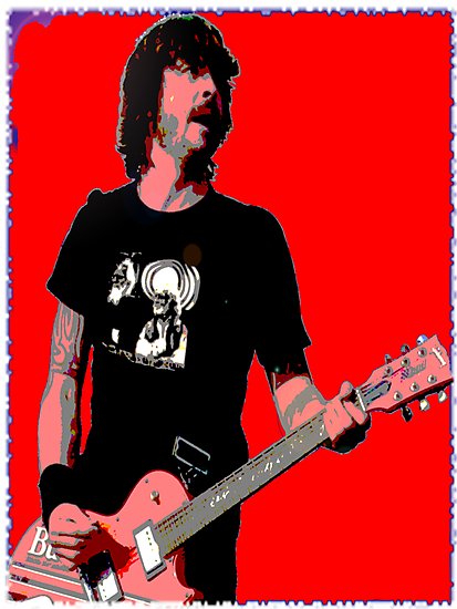 Dave Grohl Classic Red by rikovski