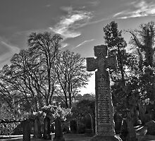 roslin graveyard cross by TheLostArt