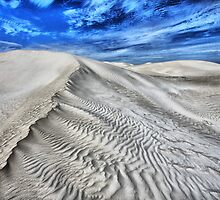 Dunes and Clouds by Jill Fisher