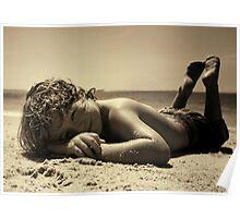Sunbaker ~ala max dupain Poster