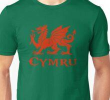 cymru wales welsh cardiff dragon Unisex T-Shirt