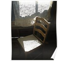 """""""Ghost Town Chair - Chloride, Arizona"""" Poster"""