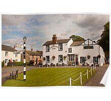 Blacksmiths Arms in Talkin, Brampton, Cumbria 2011 Poster