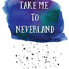 Peter Pan, Take me to Neverland  by NordicStudio