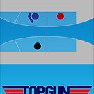 Top Gun - Minimal Poster by konman96