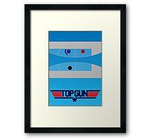 Top Gun - Minimal Poster Framed Print