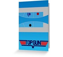 Top Gun - Minimal Poster Greeting Card