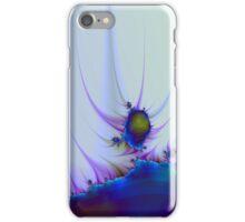 Alien Landscape in Blue iPhone Case/Skin