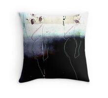 portrait de femmes / immersion Throw Pillow