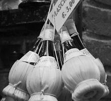 Chianti Bottles by Emma Holmes