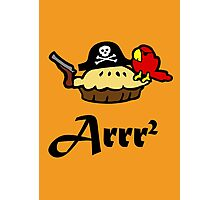 Pie Arrr Squared Photographic Print