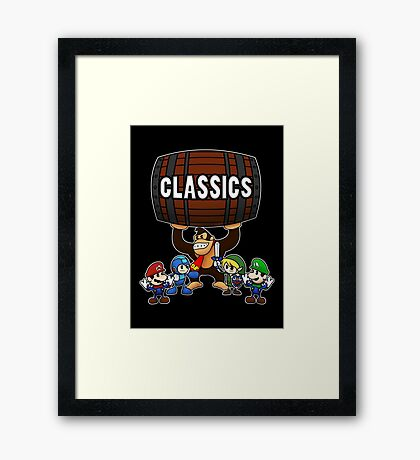 Classics Framed Print
