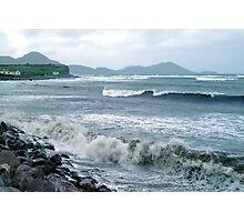 Storm on the Irish coast Photographic Print