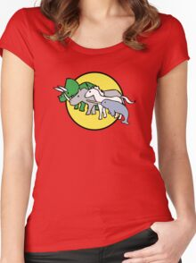 Horned Warrior Friends Women's Fitted Scoop T-Shirt