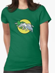 Horned Warrior Friends Womens Fitted T-Shirt