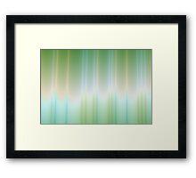 Blue to Green Framed Print