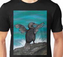 Flightless Cormorant of Galapagos Unisex T-Shirt
