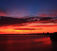 Fire in the sky by kathy s gillentine