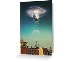 the portal the arrival Greeting Card