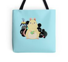 Mouse and bird from Spirited Away. Tote Bag