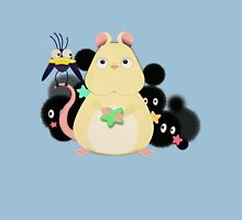Mouse and bird from Spirited Away. Unisex T-Shirt