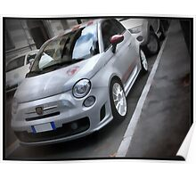 500 abarth Poster