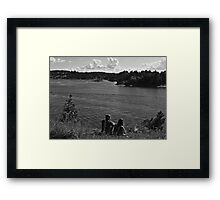 Romancing the Fjords Framed Print