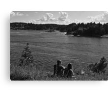 Romancing the Fjords Canvas Print