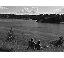 Romancing the Fjords Photographic Print