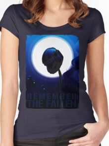 Remember The Fallen Women's Fitted Scoop T-Shirt