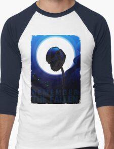 Remember The Fallen Men's Baseball ¾ T-Shirt
