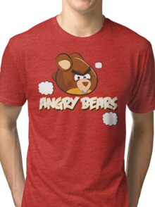 Angry Bears Tri-blend T-Shirt