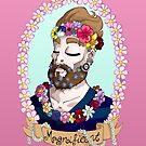 Bahorel's Magnificent Beard by LillyKitten