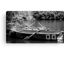 Row Your Boat Canvas Print