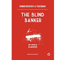 BBC Sherlock - The Blind Banker Minimalist Photographic Print