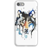 Watercolour Wolf iPhone Case/Skin