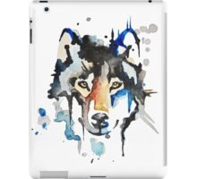 Watercolour Wolf iPad Case/Skin