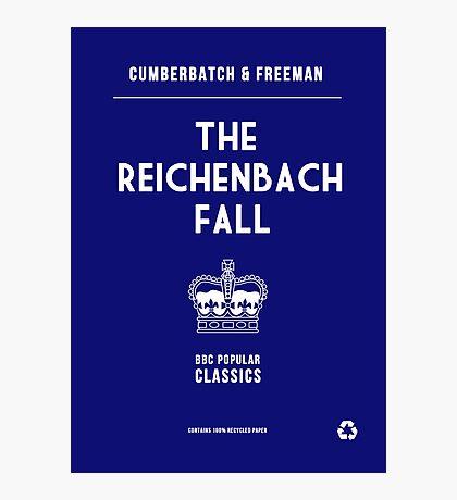 BBC Sherlock - The Reichenbach Fall Minimalist Photographic Print