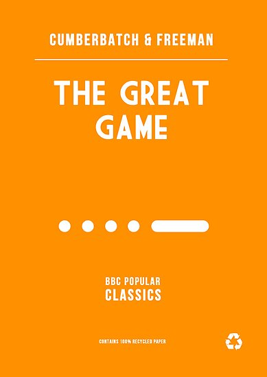BBC Sherlock - The Great Game Minimalist by ofalexandra