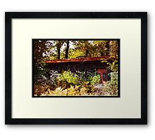 mountain pass lonelyness Framed Print